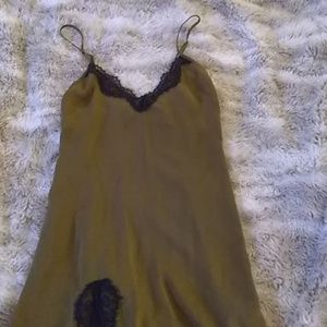 Urban outfitters Army green lace cami sz xs